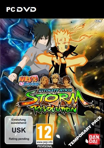 Naruto Shippuden Ultimate Ninja Storm Revolution pc dvd.jpg